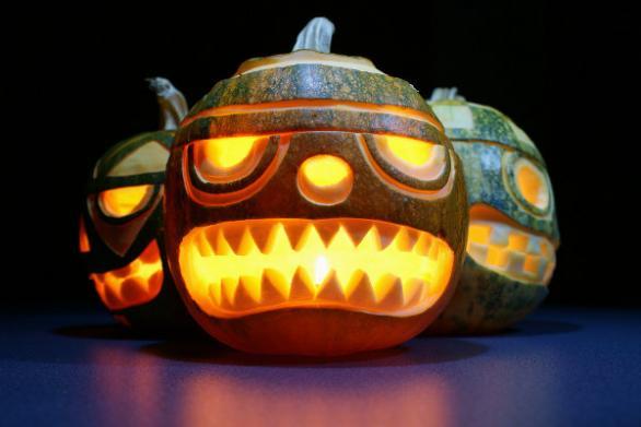 Хелоуин, изкуство, тиква, ремонт на перални по домовете, сервиз за битова техника